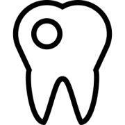 Symbol Zahnfüllungen