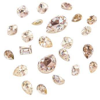 Mögliche Steine als Zahnschmuck
